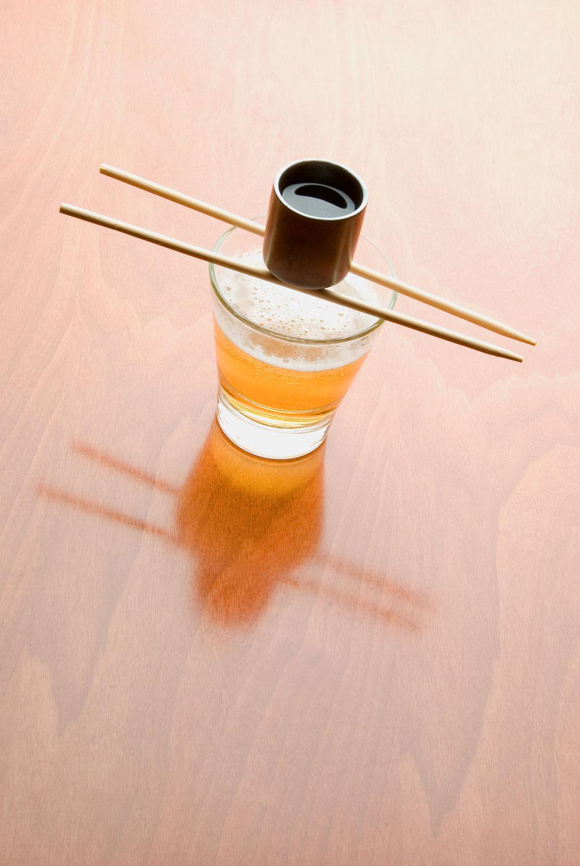 Sake Bomb koktél 01