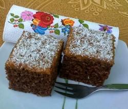 Kókuszos hárommiatyánkos süti