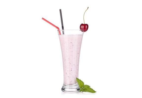 Cseresznyés turmix joghurttal
