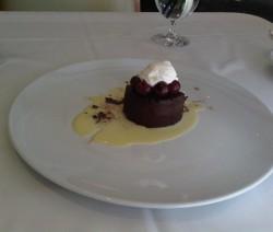 Francia csokoládéhab