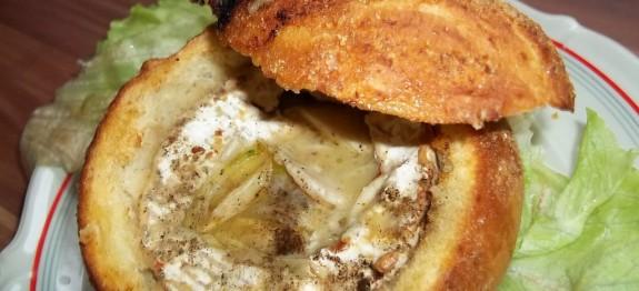 Buciban sült camembert
