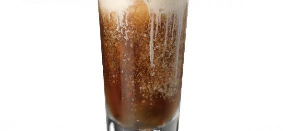 Rum and Coke Float koktél