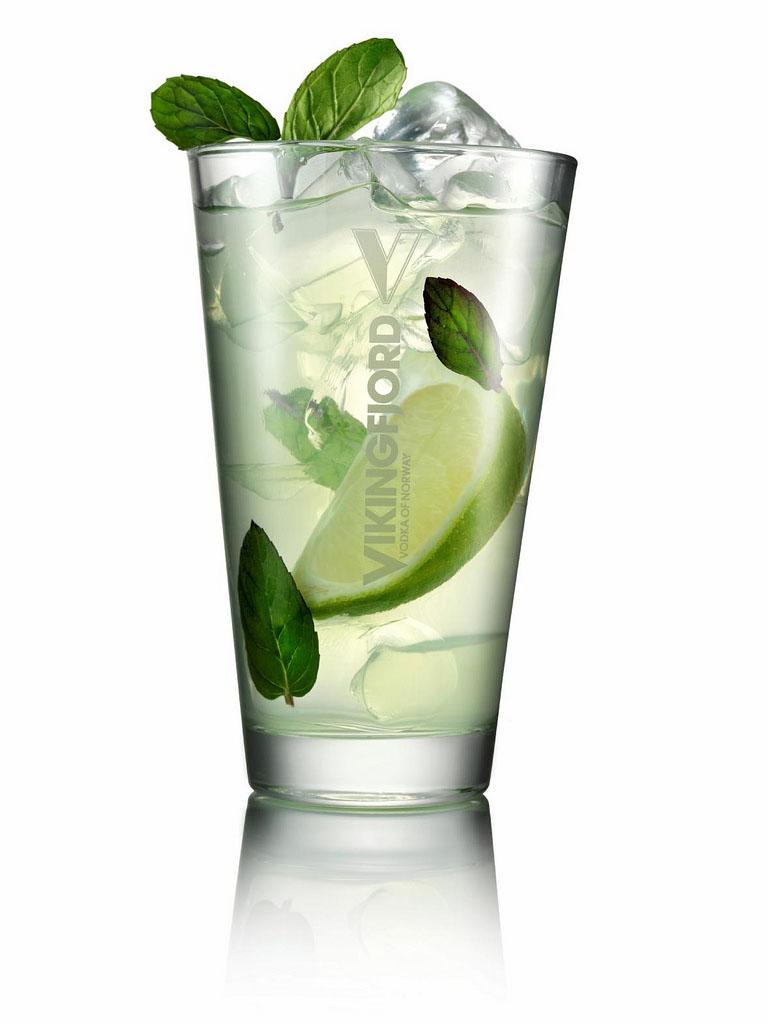 Vikingfjord Vodka Mojito koktél