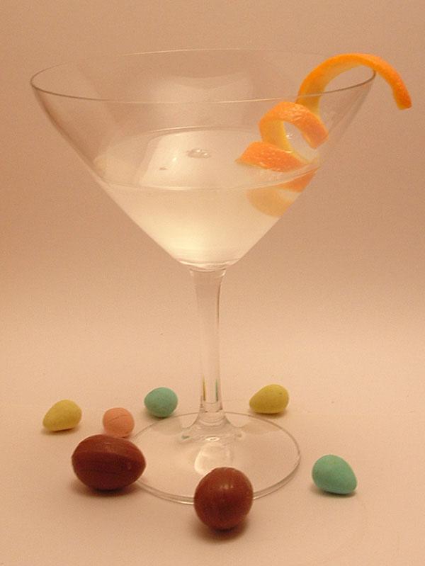 Chocolate Orange Martini koktél