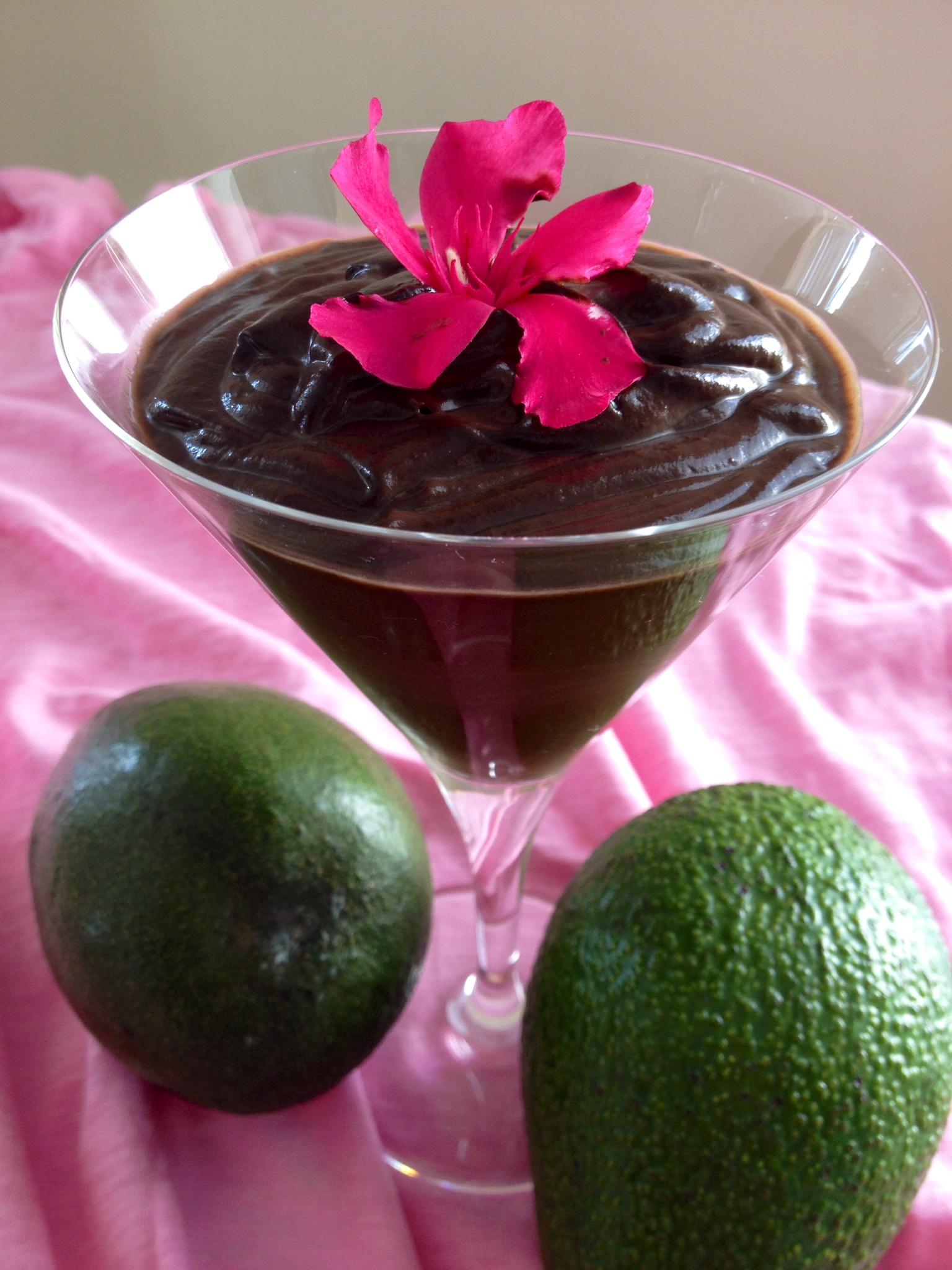 Avokádó csokipuding