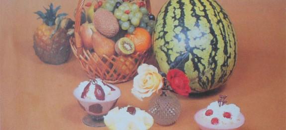 Poharas gyümölcskrémek
